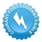courant fort, courant faible