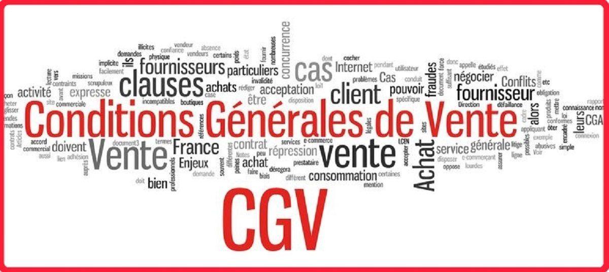 Conditions Générales de Vente C.G.V