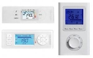 programateur et termostat