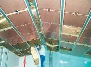 plafond rayonant