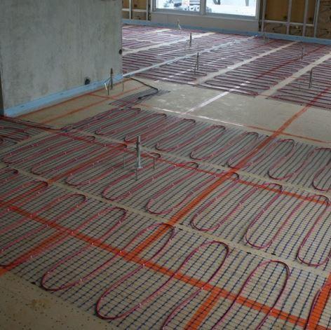 Retrouvez les diff rents types de chauffage lectrique for Plancher chauffant renovation carrelage