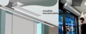 modelle de rideau d'aire
